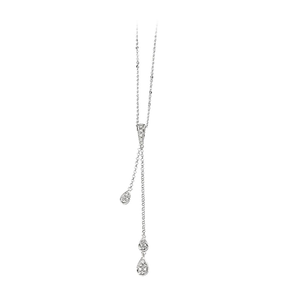 katarina 14K White Gold 1/6 ct. Diamond Necklace at Sears.com