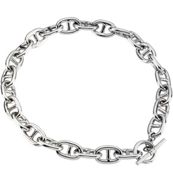Sterling Silver Link Necklace 82004964