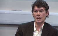 Gary McKinnon at the Doughty Street Chambers press conference Thursday 15th January 2009